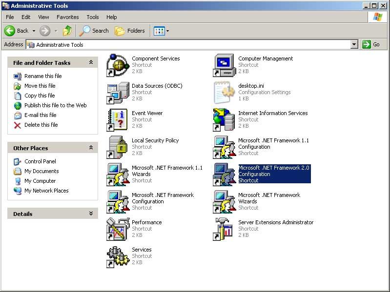 descargar microsoft .net framework 2.0 gratis